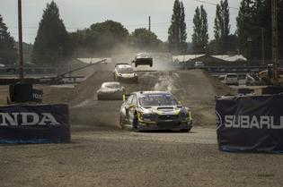 Patrik Sandell leads the field at GRC Seattle