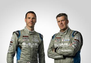 SRTUSA Codriver Craig Drew and driver David Higgins