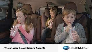 All-new 2019 Subaru Ascent Digital Spot: Slurp