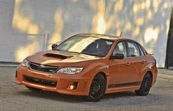 Subaru of America, Inc. revealed 2013 Subaru WRX and WRX STI Special Editions at the 2013 SEMA Show.