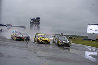 Subaru on the Podium at Red Bull Global Rallycross Atlantic City