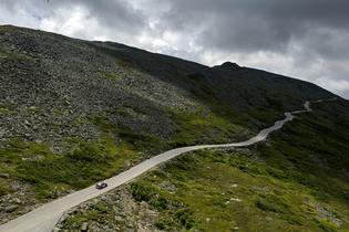 The 7.6 mile Mt. Washington Auto Road is the ultimate challenge for driver and automobile. Photo Credit: Lars Gange / Subaru Rally Team USA