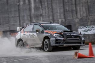 The Rally inspired WRX STI remains the top vehicle of choice for DirtFish Rally School.