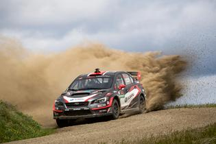 Travis Pastrana took victory at the 2017 Oregon Trail Rally