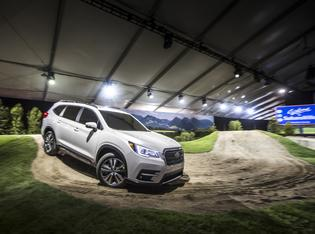 The all-new, 3-row, 2019 Subaru Ascent SUV marks the automaker's largest vehicle ever built, fitting up to eight passengers with optional second-row captain's chairs on some trim levels.