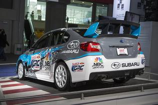 Subaru Debuts First 2015 Rallycross STI at the New York International Auto Show
