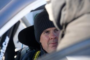 David Higgins prepares for the 2017 rally season.