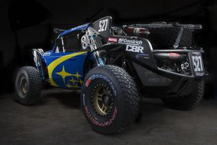 The Desert Racer's 2.5-liter non-turbocharged engine is built by Crawford Performance.